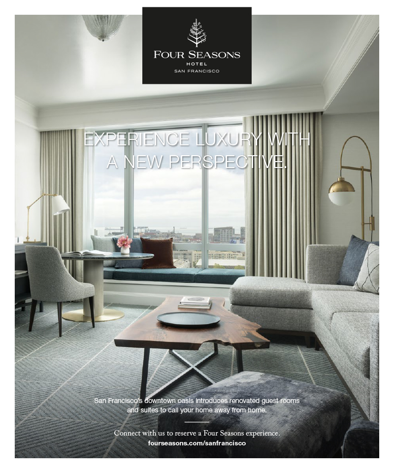 """Full Page Advertising """"Post Renovation""""Four Seasons Hotel"""